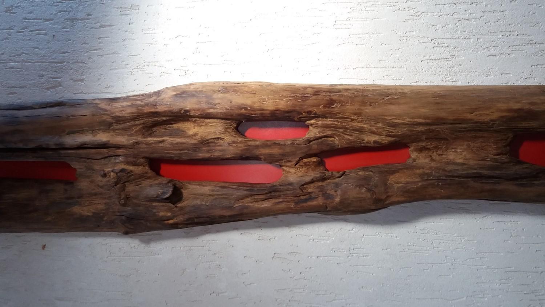 Escultura Arara